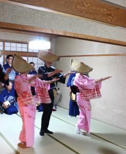 町屋内踊りイメージ(画像提供カエツ)