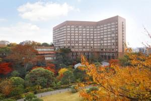 ホテル椿山荘東京全景秋