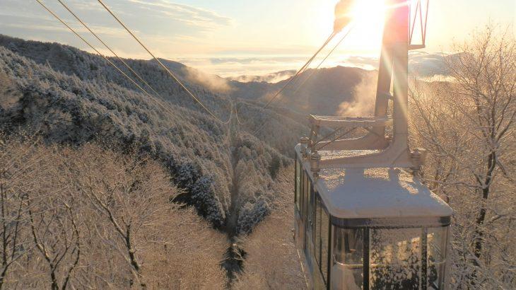 【徳島発】ガイドとともに金剛山登山と絶景‼真っ白に染まった雪景色(大阪・奈良)