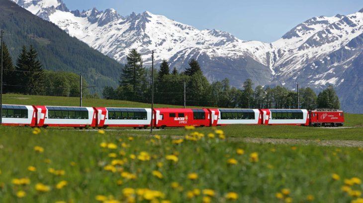 【関空発/高速バス代込】キャセイパシフィック航空 ビジネスクラスで行く!スイス三大名峰と氷河特急8日間(スイス)