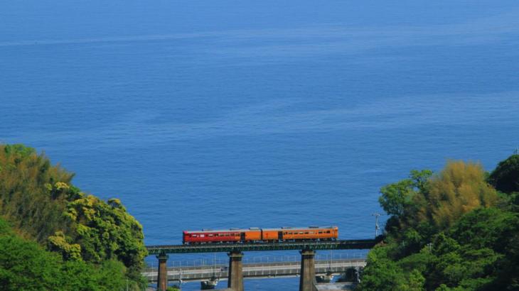 観光列車  春の伊予灘ものがたり~双海編~と道後温泉街自由散策