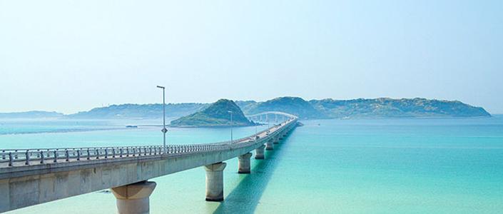 角島大橋に一番近いホテルに泊まる コバルトブルーにきらめく山口2日間